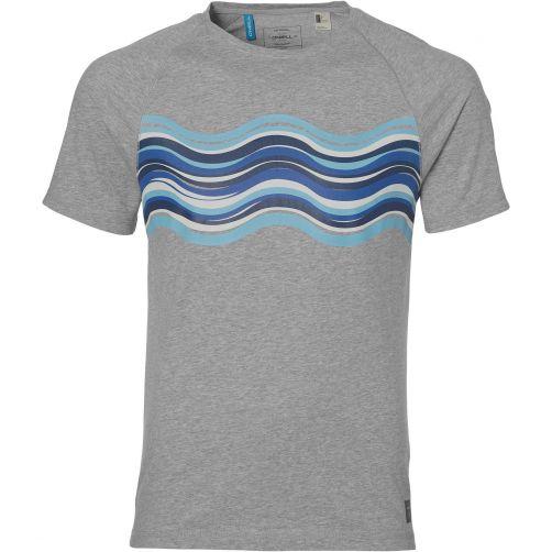 O'Neill---UV-shirt-voor-heren---Vernall-Fall---Silver-Melee-grijs