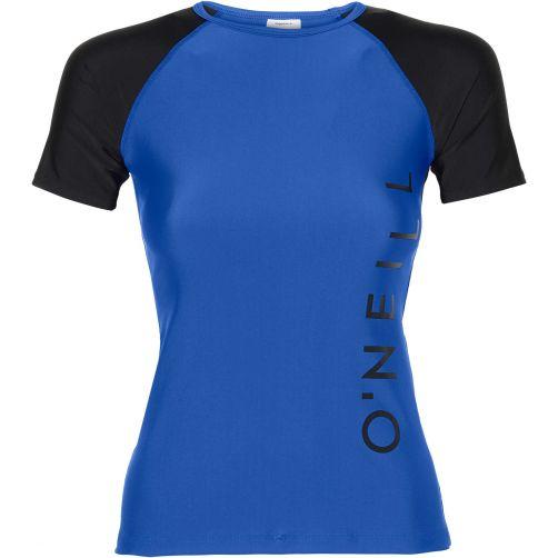 O'Neill---UV-zwemshirt-voor-dames---Neon-Dark-Blue-blauw
