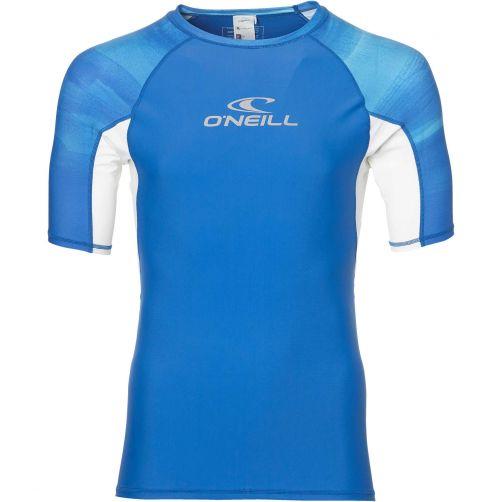 O'Neill---UV-zwemshirt-voor-heren---Sun---Blue-AOP-blauw