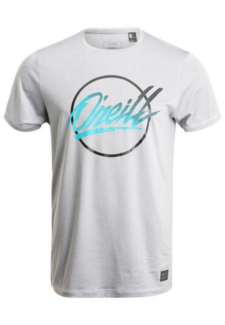 O'Neill---UV-shirt-voor-heren---Re-issue---Silver-Melee-grijs