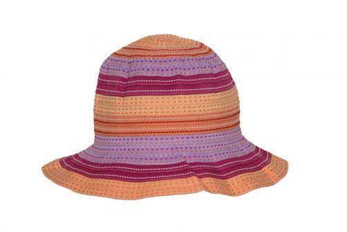 Rigon---UV-bucket-hoed-voor-kinderen---Chloe---Oranje
