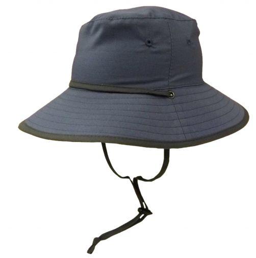 Rigon---UV-zonnehoed-voor-jongens---Petrol-blauw-/-grijs