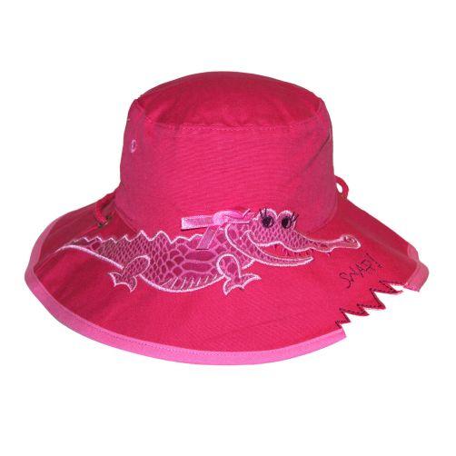 Rigon---UV-bucket-hoed-voor-kinderen---Pink-croc