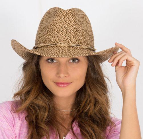 Rigon---UV-cowboyhoed-voor-dames---Byron---Chocolate