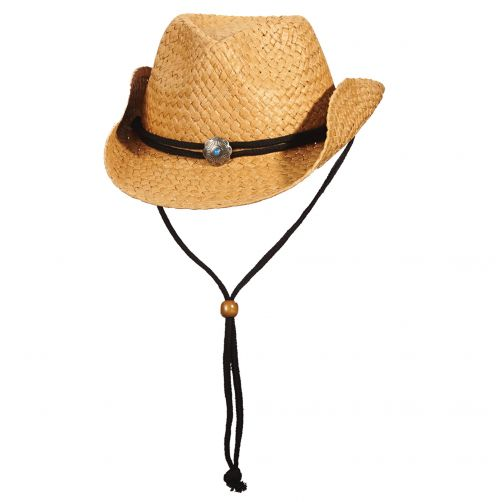 Dorfman-Pacific---Cowboy-hoed-voor-kinderen---Kaki