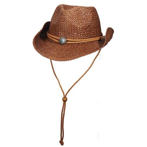 Dorfman-Pacific---Cowboy-hoed-voor-kinderen---Bruin
