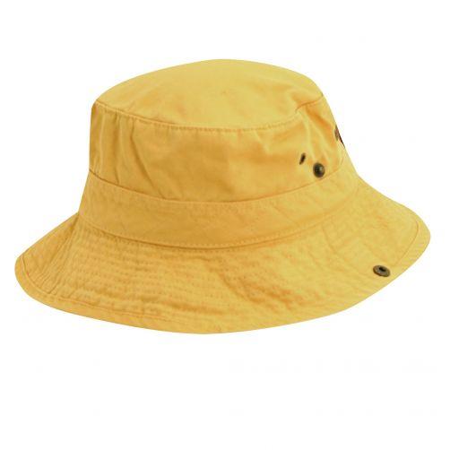 Dorfman-Pacific---UV-hoed-voor-kinderen---Geel/Donkerblauw