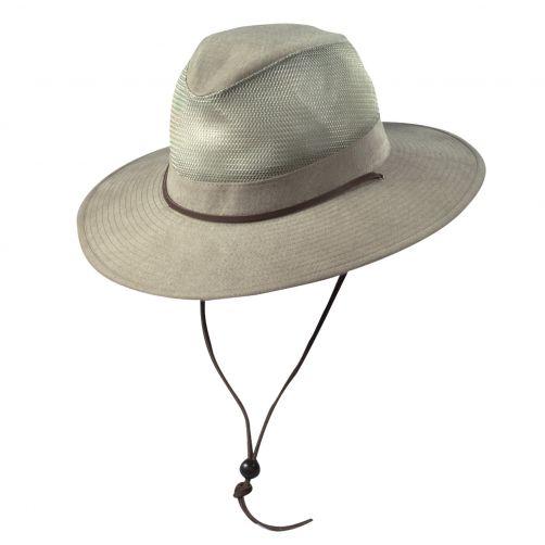 Dorfman-Pacific---UV-Safari-hoed-voor-kinderen---Kaki