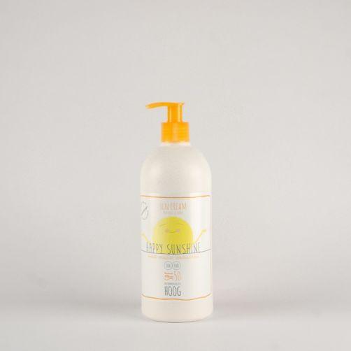 Happy Sunshine - Zonnebrand SPF50+ - 500 ml - Voorzijde