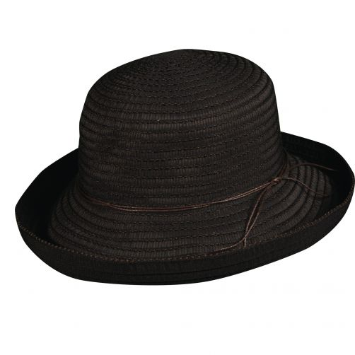Scala---UV-vormbare-hoed-voor-dames---Zwart