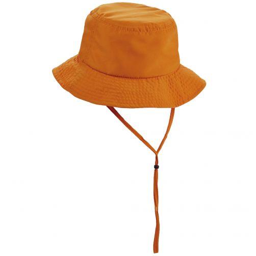 Tropical-Trends---Microfiber-bucket-hoed-voor-dames---Oranje