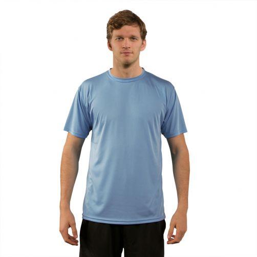 Vapor-Apparel---UV-shirt-met-korte-mouwen-voor-heren---lichtblauw