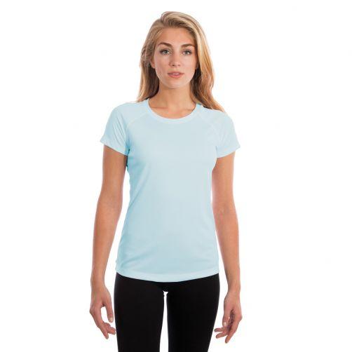 Vapor-Apparel---UV-shirt-met-korte-mouwen-voor-dames---lichtblauw