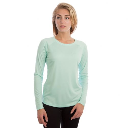 Vapor-Apparel---UV-shirt-met-lange-mouwen-voor-dames---groen