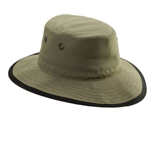 Dorfman-Pacific---UV-werende-outdoor-hoed-voor-heren---Donkergroen