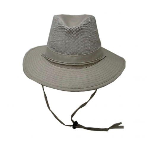 Dorfman-Pacific---UV-Safari-hoed-voor-heren---Kaki