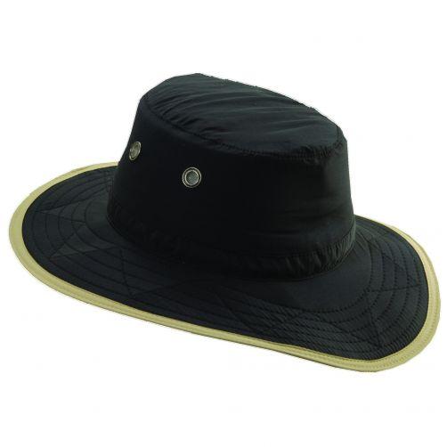Dorfman-Pacific---UV-outdoor-hoed-voor-heren---Zwart