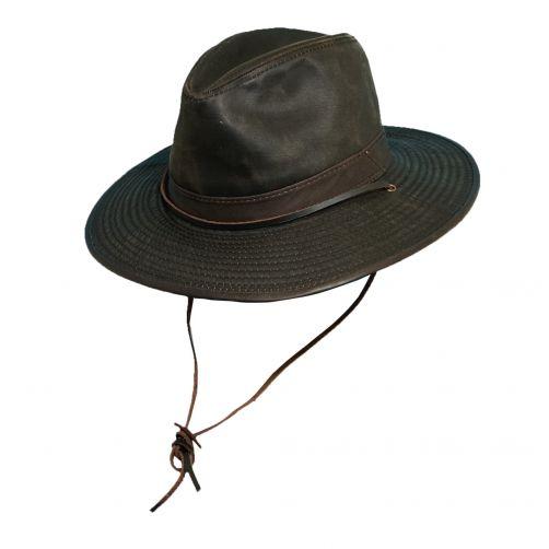 Dorfman-Pacific---UV-outback-western-heren-hoed---Bruin