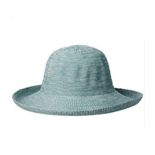 Rigon---UV-zonnehoed-voor-dames---Gemengd-seafoam-blauw