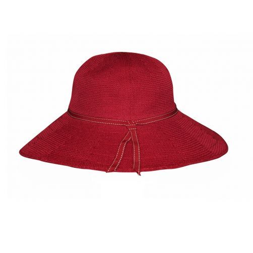 Rigon---UV-flaphoed-voor-dames---Suzi---Poppy-rood