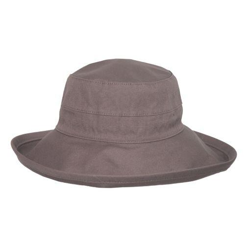 Rigon---UV-bucket-hoed-voor-dames---Mokka