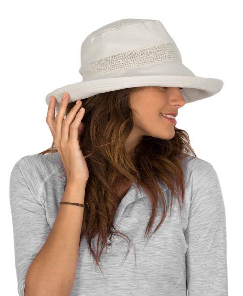 Rigon---UV-zonnehoed-voor-dames---Ventilerend---Wit