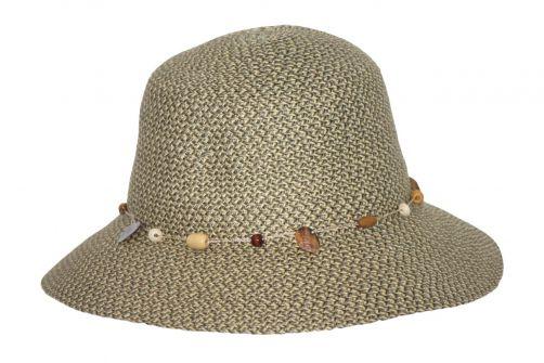 Rigon---UV-bucket-hoed-voor-dames---Pistachegroen-gevlekt