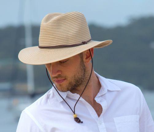 Rigon---UV-safarihoed-voor-heren---Beige