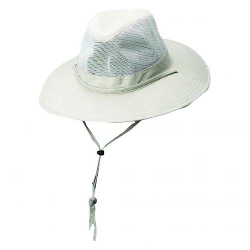 Dorfman-Pacific---Safari-hoed-van-solarweave-voor-heren---Beige