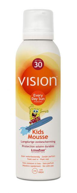 Vision---UV-zonnebrandmousse---Kids-mousse-SPF30