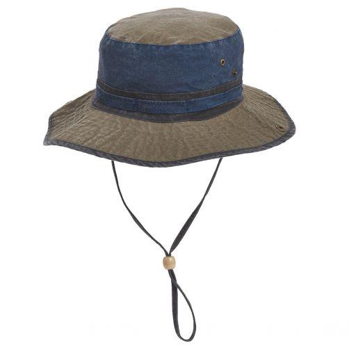 Dorfman-Pacific---UV-strandhoed-voor-heren---Donkerblauw