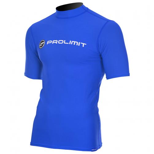 Prolimit---Zwemshirt-voor-heren-met-korte-mouwen---Royal-blauw