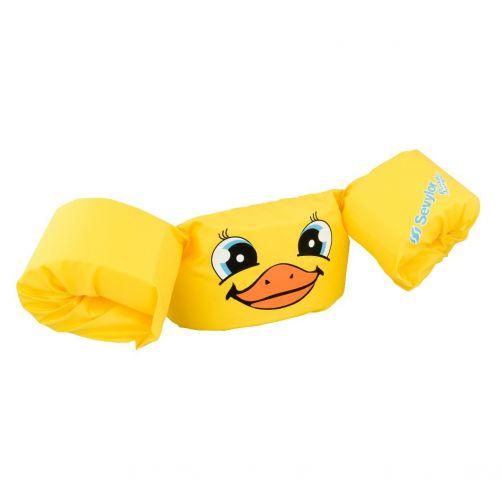 Puddle-Jumpers---Verstelbare-zwembandjes-met-eendje---Geel