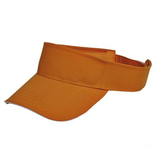 Tropical-Trends---Verstelbare-visor-voor-dames---Oranje